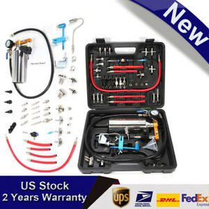 Non Dismantle Fuel Injector Cleaner Tester Air Intake System Nozzle Cleaning Kit