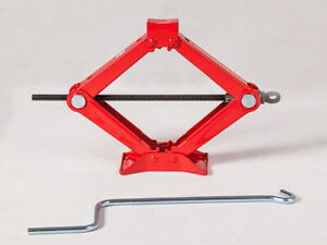 1 Ton Scissor Floor Jack For Auto Car Van Emergency Speed Rapid Pump Lifting Us