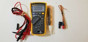 Used Fluke 116 Trms Multimeter With Accessories Sn 18960814 Tp 224112