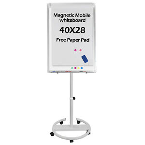 Mobile Magnetic Writing Office Marker36 x25 single Whiteboard Dry Erase Board
