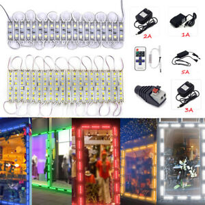 Super Bright 5054smd 2led 6led White red Module Light Lamp Dc 12v remote power