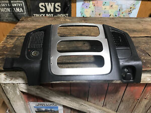2003 2005 Dodge Ram 1500 2500 3500 Center Dash Bezel Trim Heater Control Radio