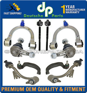 Mercedes W211 4matic Front Control Arms Ball Joints Tie Rod Suspension Kit 10