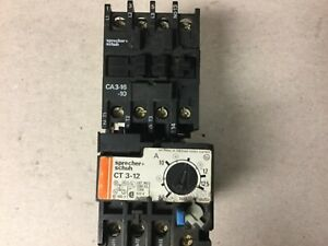 Sprecher Schuh Ca3 16 10 Motor Starter With 120 Volt Coil And Ct3 12 Overload