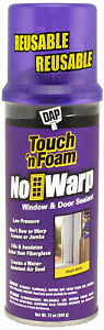 Convenience Prod 7565004000 Touch n Foam Sealant No Warp 12 oz Quantity