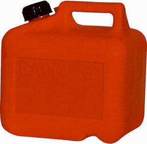 Midwest Can 2200 Gas Can Self venting Red Plastic 2 5 gallons Quantity 6