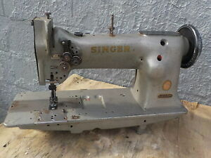Industrial Sewing Machine Singer 112g139 Walking Foot Two Needle leather