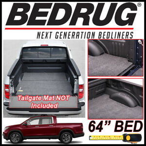 Bedrug Classic Bed Mat Truck Liner Fits 2017 2019 Honda Ridgeline With 64 Bed