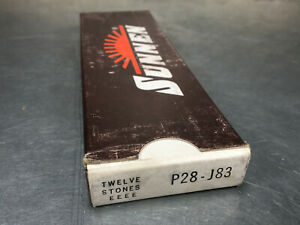 Sunnen P28 j83 Honing Stones Silicon Carbide 400 Grit Open Hole box Of 11