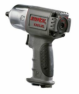 Nitrocat Composite Air Impact Wrench 1355 Xl 3 8 Inch Twin Hammer Mechanism Tool