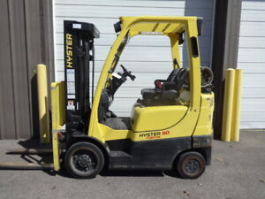 2016 Hyster 5 000 Pound Capacity Lp Gas Forklift Model S50ft Low Hours