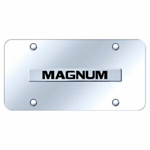 License Plate Chrome With Dodge Magnum Name On Chrome Officially Licensed