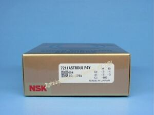 Nsk 7211a5trdul P4y Abec 7 Super Precision Spindle Bearings Set Of Two