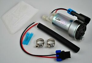 450lph E85 Electric Fuel Pump In tank Universal High Flow With Install Kit Efi