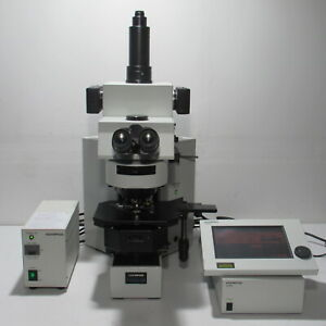 Olympus Ax80 Automatic Research Photo Microscope W Apo Objective Set