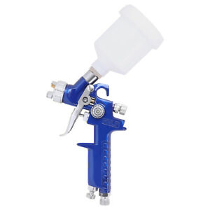 0 8mm Mini Hvlp Air Paint Spray Gun Auto Car Detail Touch Up Sprayer Spot Repair