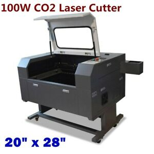 20 X 28 100w Co2 Laser Cutter 2 Doors Usb Port Electric Lifting Worktable
