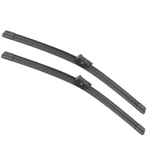 Pair 24 20 Windshield Wiper Blades For Audi A4 A5 A7 2009 2016 Front Windscreen
