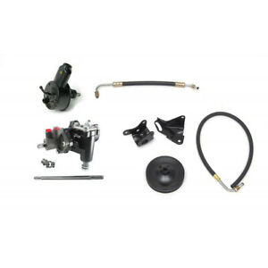 Full Size Chevy Power Steering Conversion Kit For Cars With 348