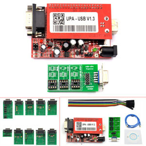 2018 V1 3 Upa Usb Programmer With Full Adaptors With Nec Function W Usb Cable