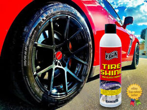 Fga1 Tire Shine 12 High Gloss 15oz Aerosol Spray Wet Look Dressing