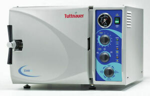 Tuttnauer Sterilizer Autoclave Machine 2340m Dental Tattoo 1 Years Warranty