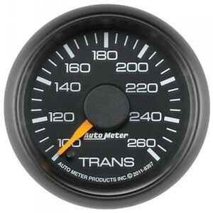 Autometer 8357 Factory Matched Trans Temp Gauge 100 260f For 2001 2007 Gm