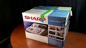Sharp Xe a402 Cash Register With Keys Scanner Manual Thermal Receipt Rolls