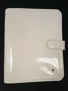 Franklin Covey Compact Planner Love Binder Ivory