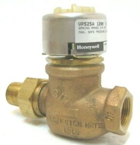 new Honeywell Vp525a 1200 Pneumatic Radiator Valve N o 3 4 2 5 Spring Range