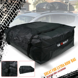 L Size Roof Top Cargo Bag With 15 Cubic Foot Capacity Fit All Car Truck Suv Van