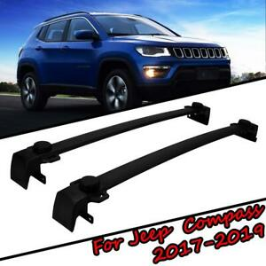 Durable Roof Rack Cross Bar Cargo Carrier For Jeep Compass 2017 2018 2019 Suv Us