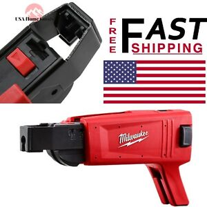 Milwaukee M18 Fuel Drywall Collated Tapered Nose Screw Gun Attachment Power Tool