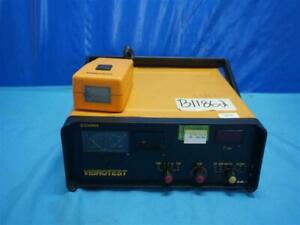 Schenck Vibrotest M496 Field Balancer And Vibration Analyzer Tester