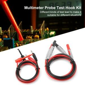 P1600e Pluggable Multimeter Probe Test Lead Cable Car Probe Test Kit 15 in 1