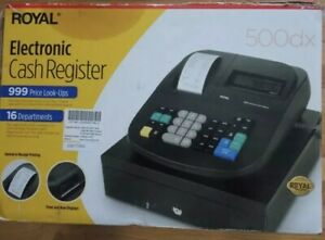 Royal 500dx Electronic Cash Register Never Used In Original Box opened L1