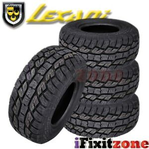 4 Lexani Slayer At Plus 285 60r18 120s Xl All Terrain Tires