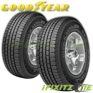 2 Goodyear Wrangler Sr A P235 75r15 105s Owl Performance Tires
