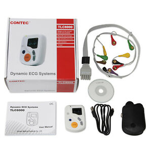 Tlc6000 Ecg Holter Dynamic Systems 48 Hours Ekg Recorder analyzer free Software
