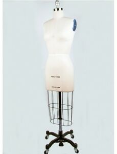 Size 8 Height adjustable Professional Dress Form