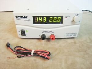 Nice Tenma Model No 72 7670 Switching Mode Dc Regulated Power Supply