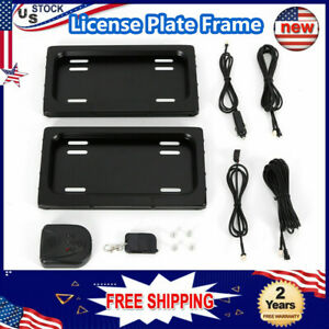 Only Fit Car Shows And Track Events Electric License Plate Frame Hide Device Kit