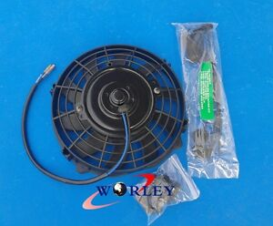 Universal 7 Inch Universal Electric Radiator Fan New With Mounting Kit