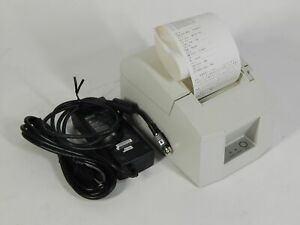 Star Micronics Tsp600 Pos Thermal Receipt Printer With Cables