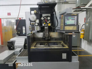 21 6 Y 13 7 X Sodick Aq535l New 2004 With Automatic Threading Wire type Edm 1