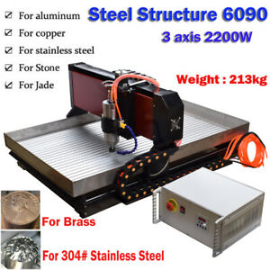 Cnc 6090 3axis 2 2kw Cnc Router Small Cnc Steel Metal Engraving Milling Machine