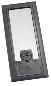 Black Hubbell 3sfbcbka 3 service Thermoplastic Abs Recessed Concrete Floor Box