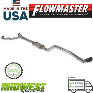 Flowmaster Flowfx Cat Back Single Exhaust System For 2017 2019 Nissan Titan 5 6l