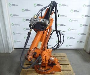 Used Abb Irb 1400 M2000 Standard 6 Axis Industrial Robot Arm W Weld Wire Feeder