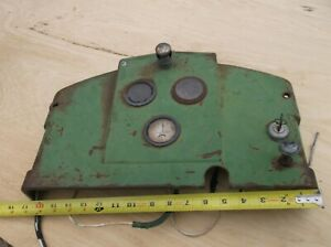 John Deere D Dash Panel With Gauges And Key Switch